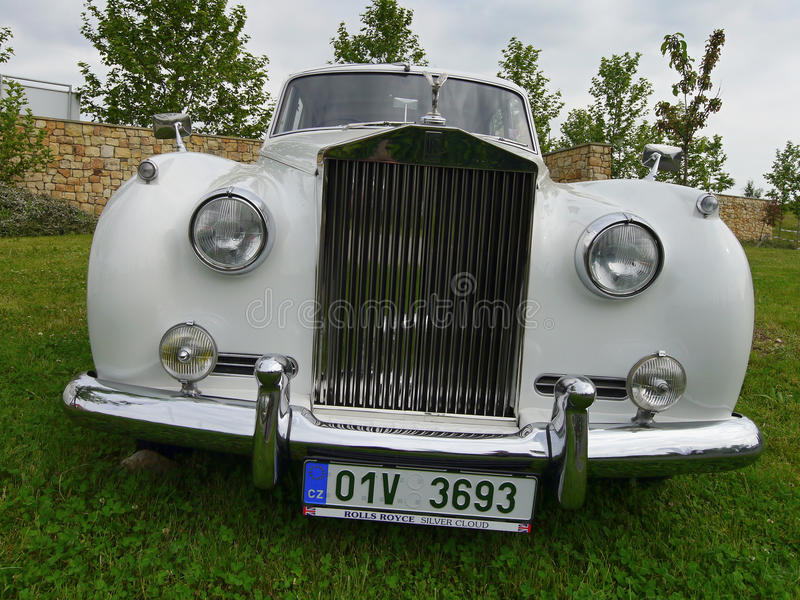 Rolls Royce stockfotos