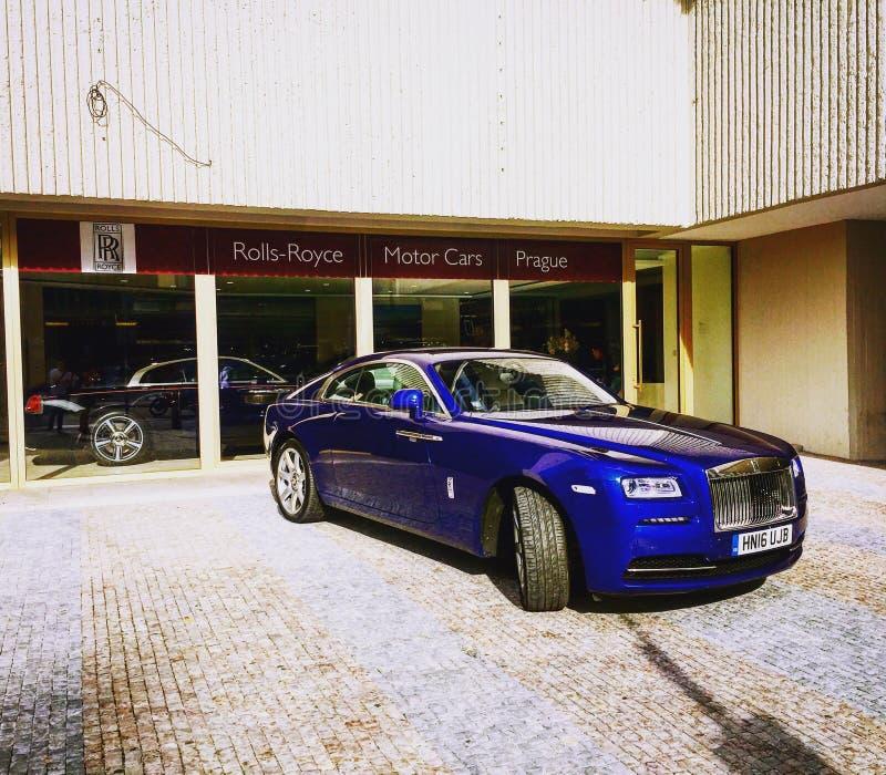 Rolls Royce fotografia stock
