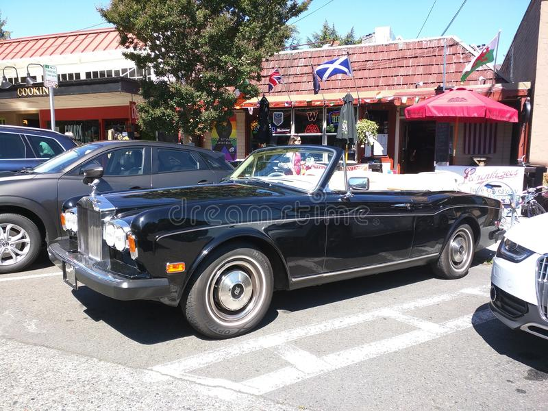 Rolls Royce lizenzfreie stockfotos