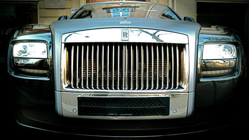 Rolls royce foto de stock royalty free