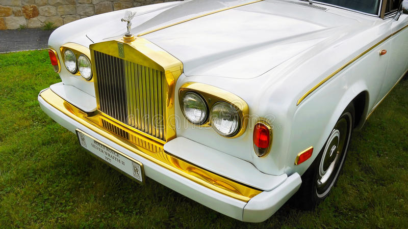 Rolls royce antiga imagem de stock