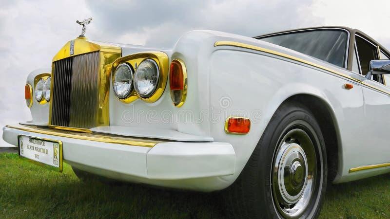 Rolls royce antiga fotos de stock royalty free