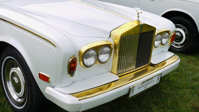Rolls royce antiga fotos de stock