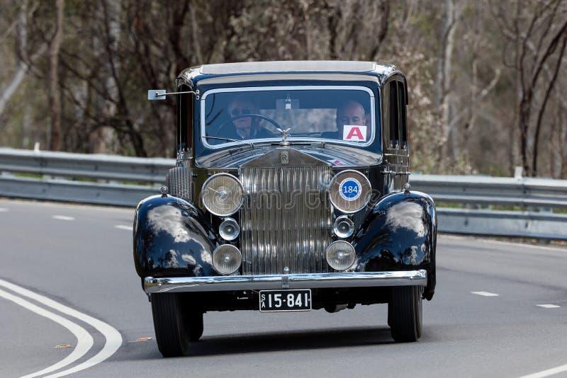 1937 Rolls Royce 25/30 barów zdjęcia stock