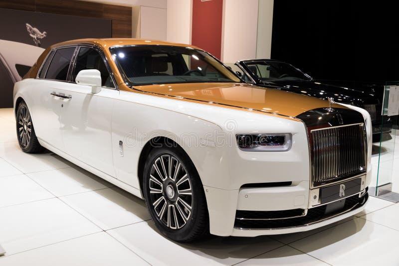 Rolls Royce baru Fikcyjny luksusowy samochód zdjęcia royalty free