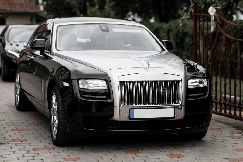 Rolls Royce bil royaltyfria foton