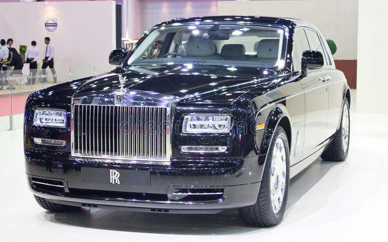 Rolls Royce Car On Display. fotografía de archivo libre de regalías