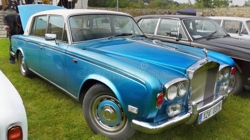 Rolls Royce, carro do clássico do vintage fotografia de stock royalty free