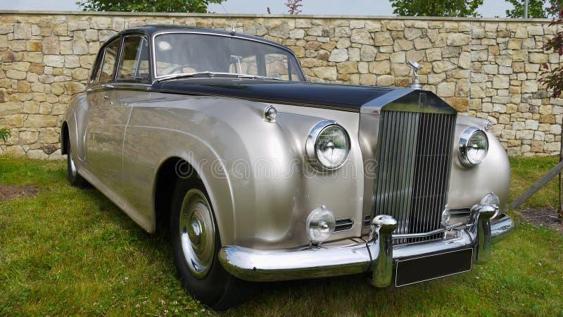 Rolls Royce, carro do clássico do vintage fotos de stock royalty free