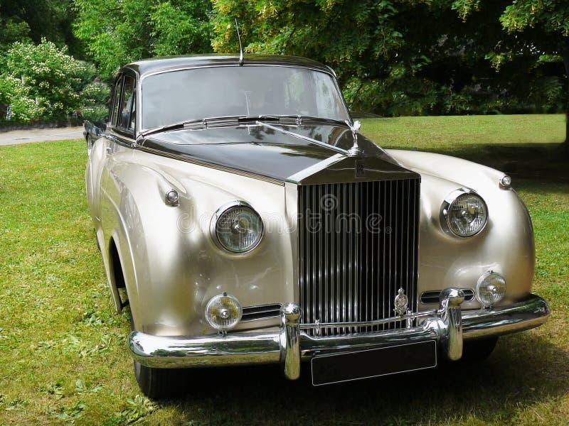 Rolls royce, carro do vintage fotos de stock