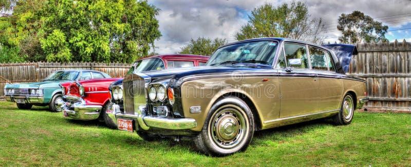 Rolls royce clássica fotos de stock royalty free