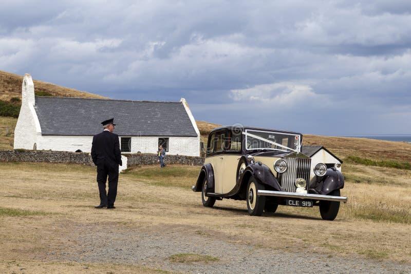 1935 Rolls Royce clássico 20/25 fotos de stock royalty free