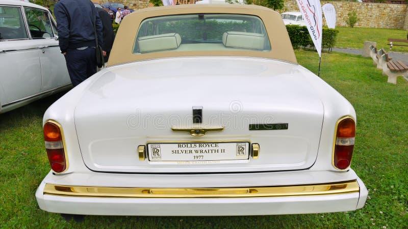 Rolls Royce, coche de la obra clásica del vintage foto de archivo