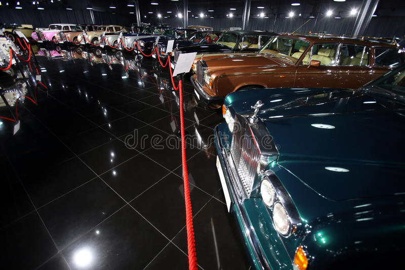 Rolls Royce Collection fotografia de stock royalty free