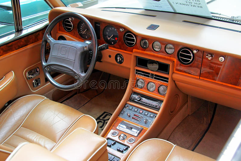 Rolls royce Corniche imagem de stock royalty free