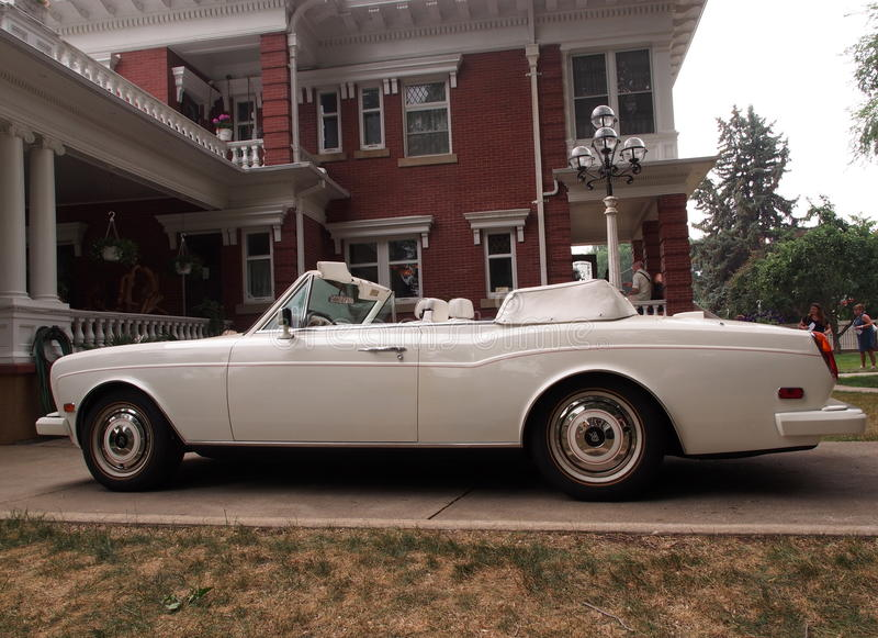 Rolls Royce Corniche royalty free stock images
