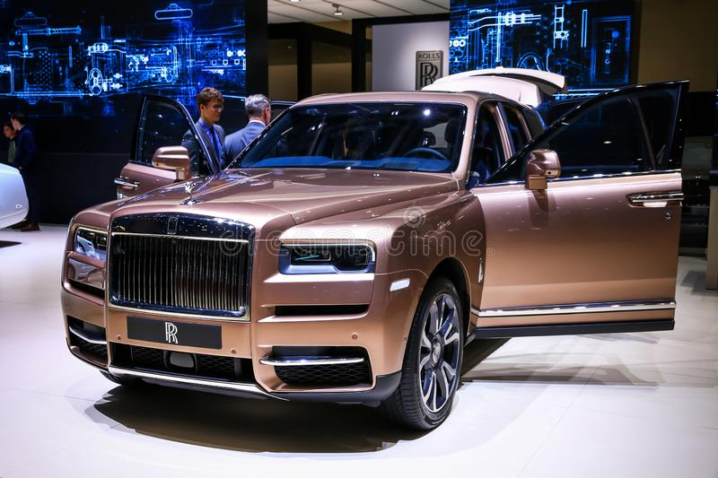 Rolls-Royce Cullinan royalty free stock photography