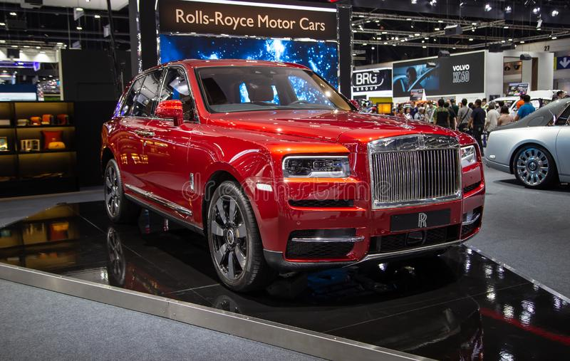 Rolls Royce Cullinan lyxiga SUV royaltyfria foton