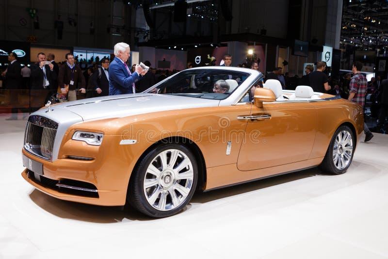 Rolls Royce Dawn fotografia de stock royalty free