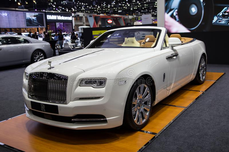 Rolls Royce Dawn Luxury Car photos stock