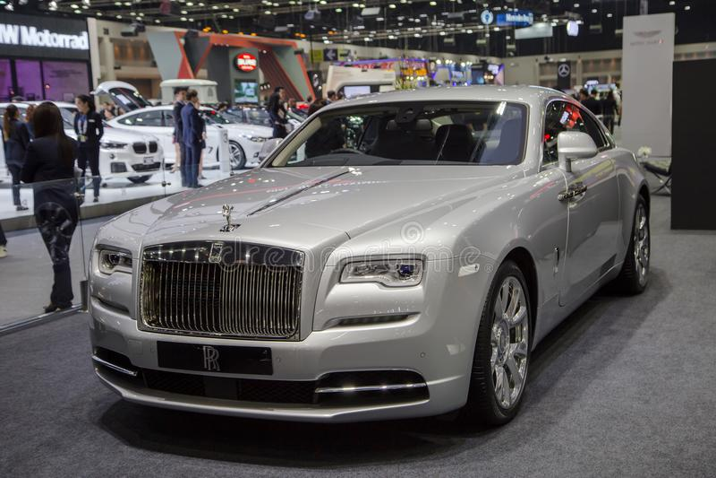 Rolls royce Dawn Luxury Car fotografia de stock royalty free