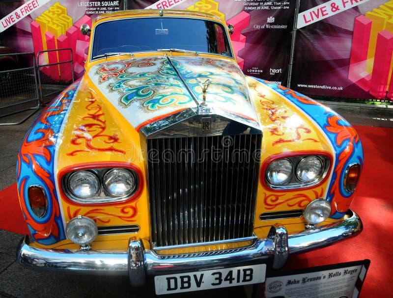 Rolls royce de John Lennon - fantasma V fotos de stock royalty free