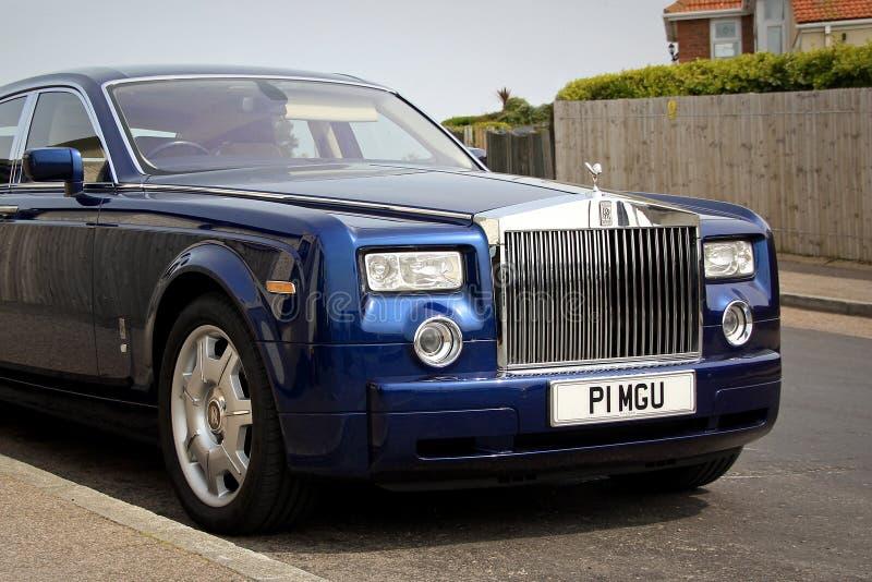 Rolls Royce de luxe images libres de droits