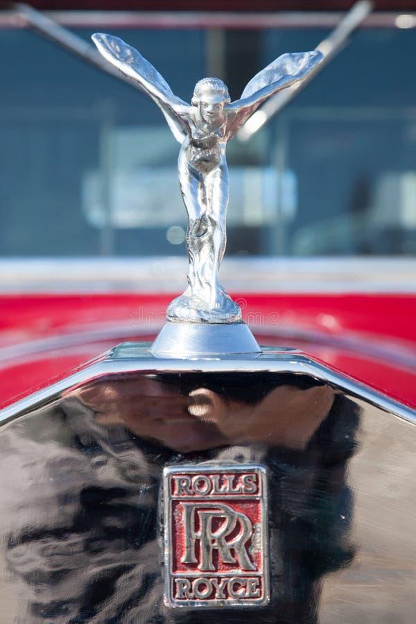 Rolls Royce Decor no hot rod foto de stock royalty free