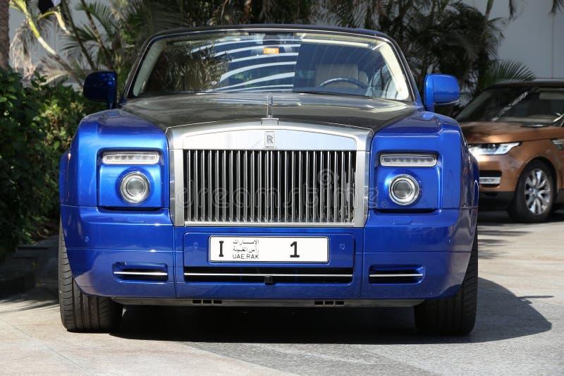 Rolls Royce Dubai fotografia stock