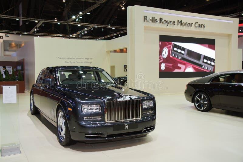 Rolls Royce ducha Standardowy Wheelbase Majestatyczny koń obrazy royalty free