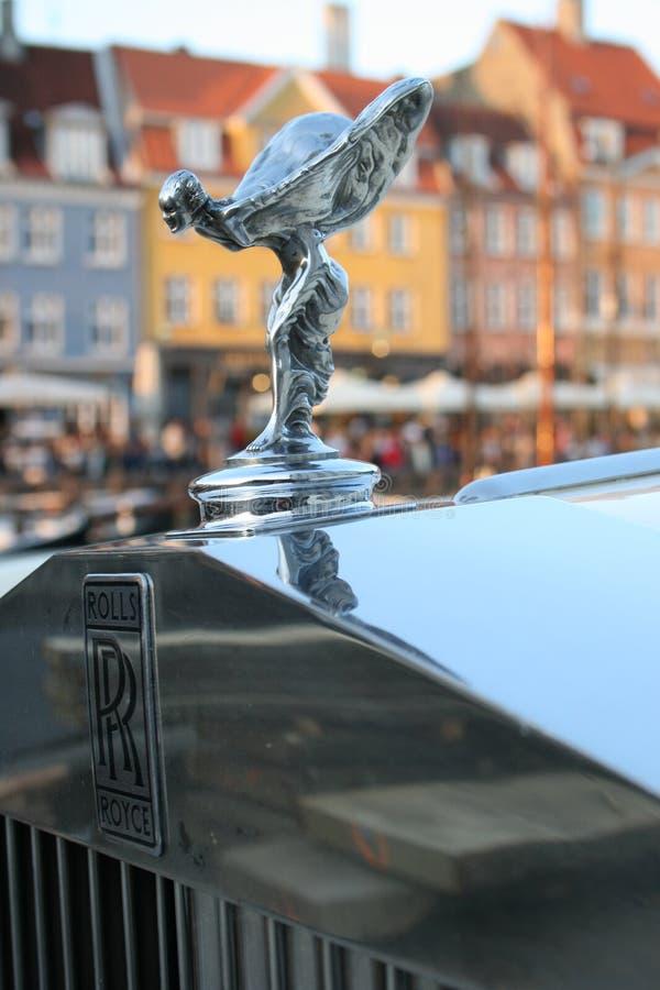 Rolls royce - espírito da êxtase foto de stock