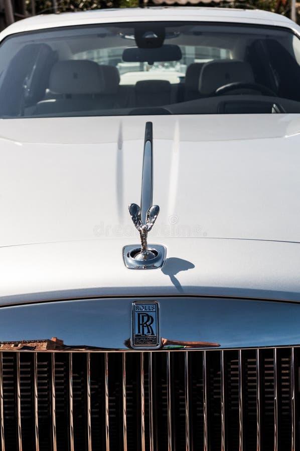 Rolls Royce fantom w Porto Cervo obrazy royalty free