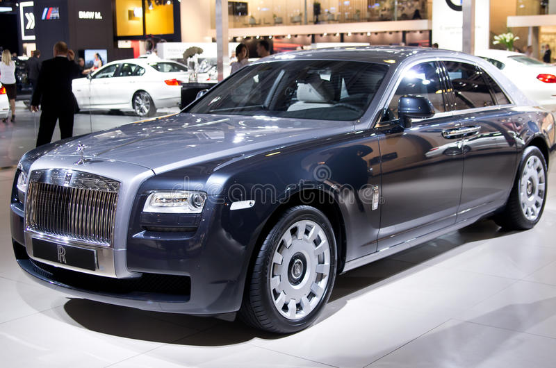 Download Rolls-Royce Ghost editorial photo. Image of show, rolls - 26622211