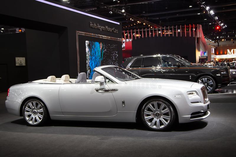 Rolls Royce Ghost Convertible photos stock