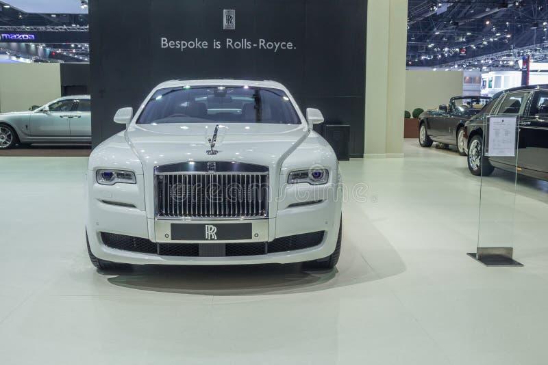 """Rolls royce Ghost estendeu o ล do """"do ภdo ‡ do ภdo ¡ do ชภdo """"do ภda distância entre o eixo dianteiro e traseiro most foto de stock royalty free"""