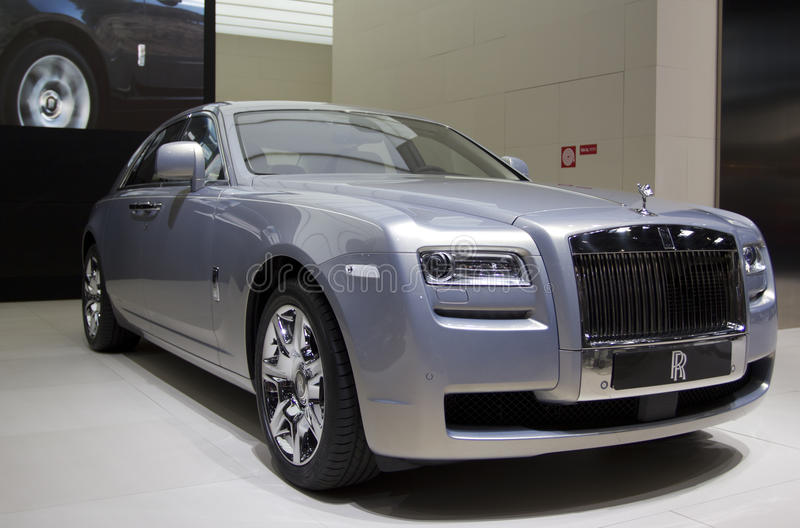 Download Rolls Royce Ghost In Paris 2010 Editorial Stock Photo - Image: 16956453