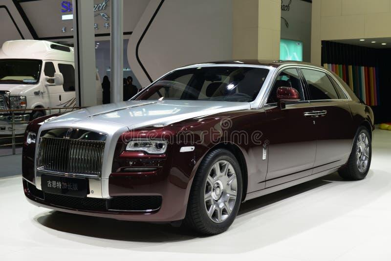 Rolls Royce Gusteau Rozszerzony wydanie obraz stock