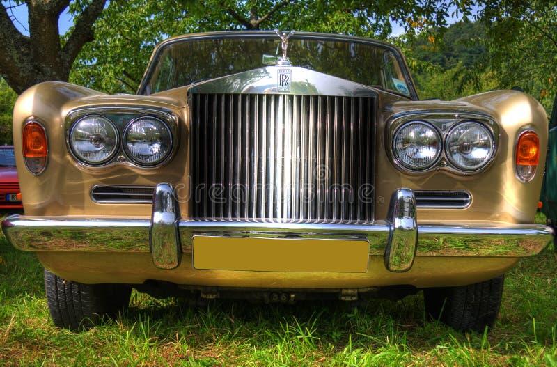 Rolls royce HDR imagens de stock