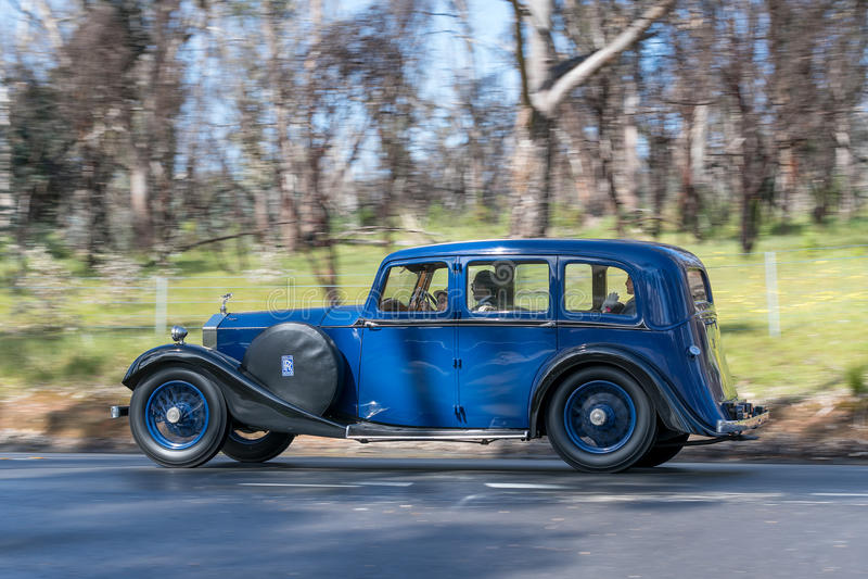 1926 Rolls Royce 20 HP sedan fotografia royalty free