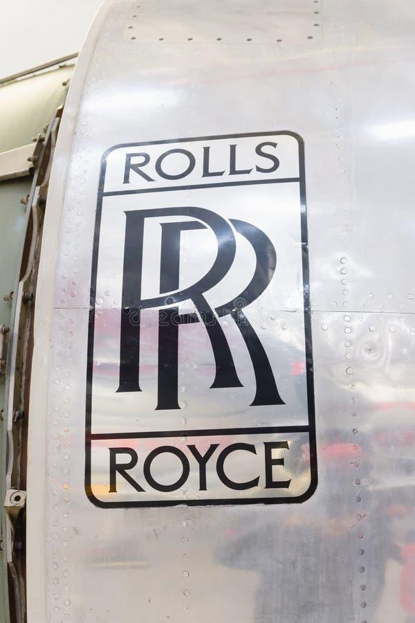 Rolls Royce Jet Engine arkivfoto