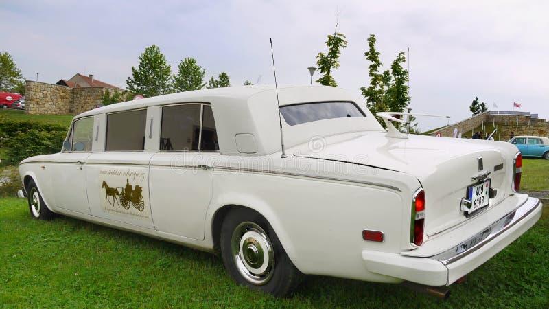 Rolls Royce, limusina do casamento imagens de stock