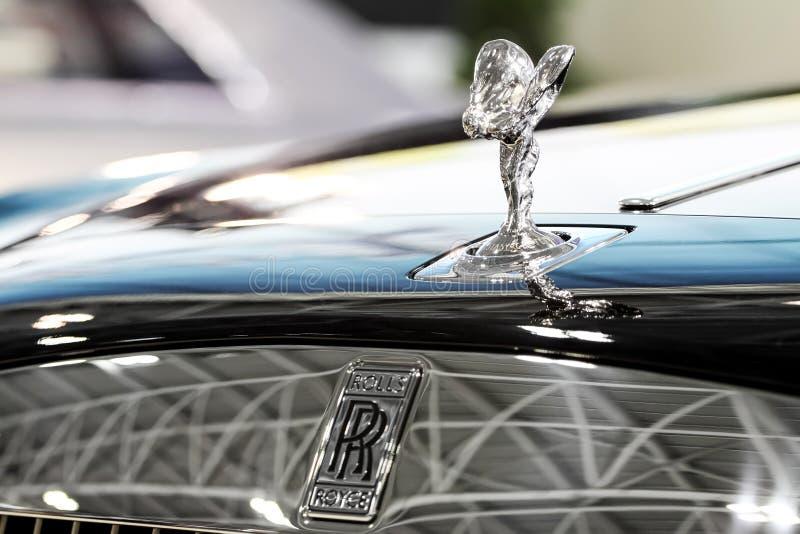 Rolls Royce logo stock photos