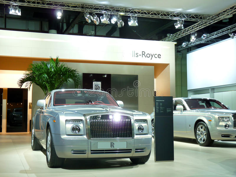 Rolls Royce Luxury Cars Editorial Photography