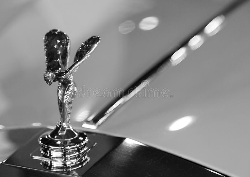 Rolls-Royce mascot royalty free stock photo