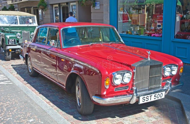 Rolls royce na reunião de Inverness imagem de stock
