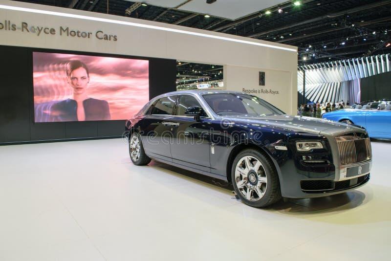Rolls royce na 36th exposição automóvel internacional 2015 de Banguecoque foto de stock royalty free