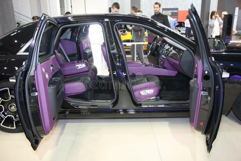 Rolls Royce no Car Show de Belgrado foto de stock