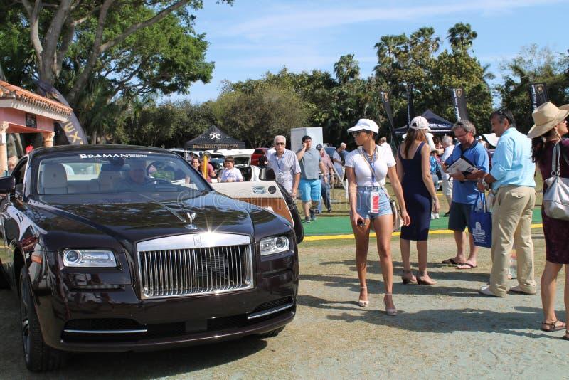 Rolls royce nova fora em Florida sul foto de stock