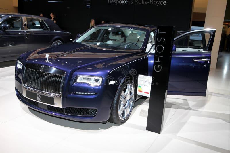 A Rolls royce nova Ghost fotografia de stock royalty free