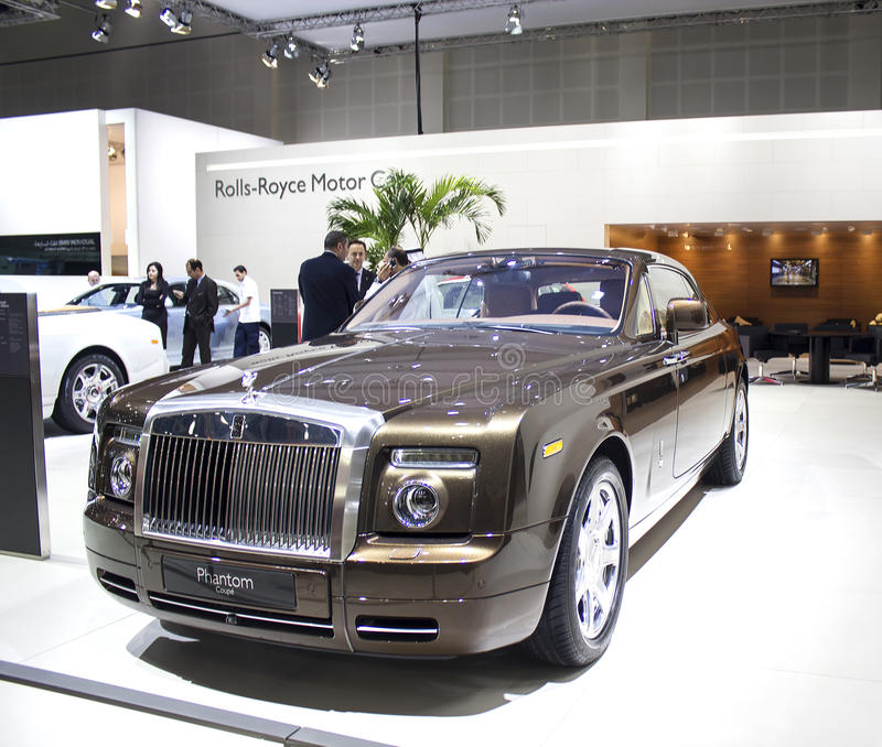 Rolls Royce Phantom Coupe fotografia de stock